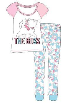 "Code:34084, Official ""Aristocats Marie"" Ladies Pyjama £6.20. pk8...."