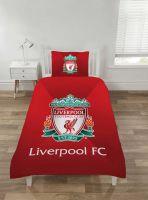 """*V2087, Official """"Liverpool FC"""" Reversible Single Duvet Cover Set £12.95. pk3.."""
