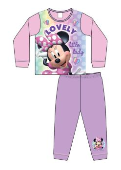 "*Code:34377, Official ""Minnie Mouse"" Girls Pyjama £3.40. pk18..."