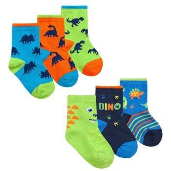 44B911, Baby Boys 3 in a pack Cotton Rich Design Socks £1.20.   12pks...