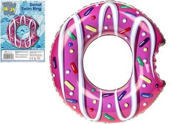 "Code:071001, Donut Design Swim Ring 20"" By Wet 'N' Wild £0.95.  pk20..."