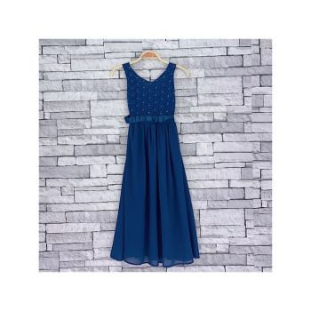 *Code:756NAVY, Girls Maxi Dress With Detail As Shown £6.95.  pk5....