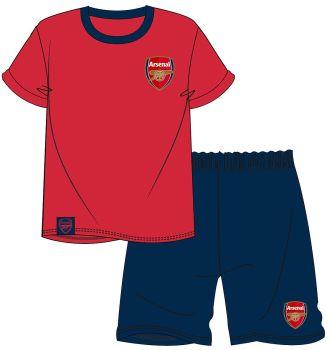 "WH29071,  Official ""Arsenal"" Mens Shortie Pyjama £6.50.  pk36.."