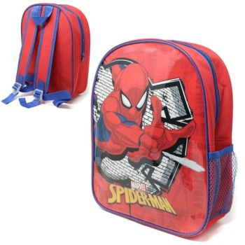 "*Code:9176, Official ""Spiderman"" Junior Backpack £2.25. pk6.."