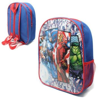 "*Code:7562T, Official ""Avengers"" Junior Backpack £2.25.  pk6.."