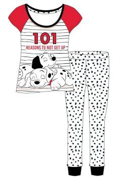 Code:34563, Official  Disney 101 Dalmations Ladies Pyjama £6.20.  pk8..