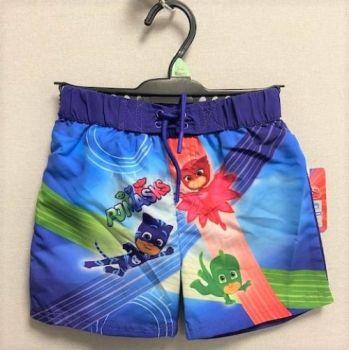"*Code:6028, Ex Stores ""PJ Masks"" Boys Lined Swim Shorts £2.25.   pk50.."