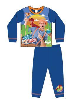 "Code:34559, Official ""Blippi"" Boys Pyjama £3.50.  pk18...."