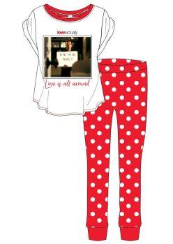 "Code:34564, Official  ""Love Actually"" Ladies Pyjama £6.20.  pk8.."