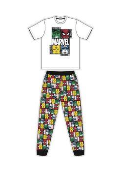 "Code:34614, Official ""Marvel Comics"" Mens Pyjama £7.50.  pk16..."