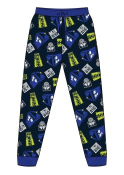 """Code:34680, Official """"Dr Who"""" Mens Lounge Pant £5.10.  pk12..."""
