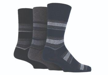 """SOMRJ528, Mens """"Gentle Grip"""" design socks.  1 dozen.."""