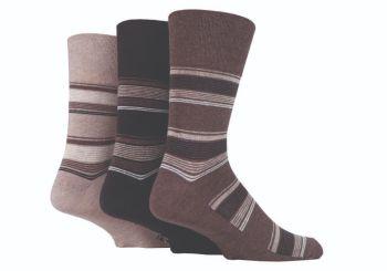 """SOMRJ531, Mens """"Gentle Grip"""" design socks.  1 dozen.."""