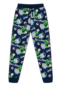 """Code:34662, Official """"Rick and Morty"""" Mens Lounge Pant £4.90.  pk24..."""