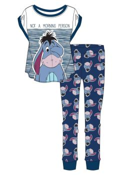 "Code:34566, Official Disney ""Eeyore"" Ladies Pyjama £5.90. pk24...."