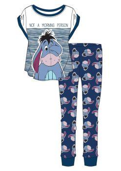 "Code:34566, Official Disney ""Eeyore"" Ladies Pyjama £6.05. pk16...."