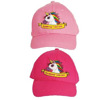 Code:56151, Girls Unicorn Baseball Cap £1.25.   pk24....