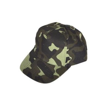 Code:56134, Mens Camouflage Baseball Cap £0.95.   pk24...