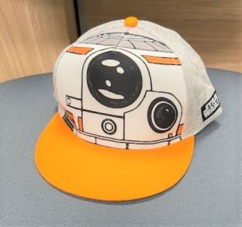 Code:6978, Boys Star Wars Cap £1.95.  pk12...