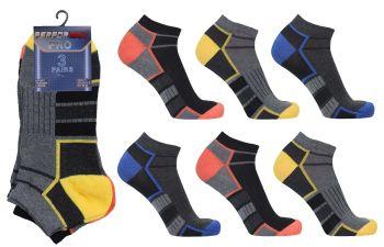 "SL5521, Mens ""Performax Pro"" Trainer Socks.  1 dozen..."