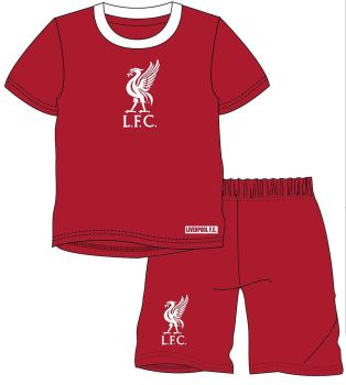 "*WH36055, Official ""Liverpool"" Boys Shortie Pyjama £4.75.  pk18..."