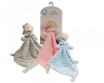 GP1097, Baby Bubble Comforter - Teddy with Hat £2.95.  PK6..