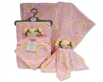 GP1090, Baby Blanket with Doll Comforter £5.50.  PK6..