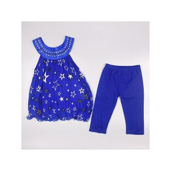 F17ROYAL, Girls Star Tunic  & Crop Legging Set £5.50.  pk6....