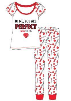 "*Code:34577, Official ""Love Actually"" Ladies Pyjama £6.20.  pk8..."