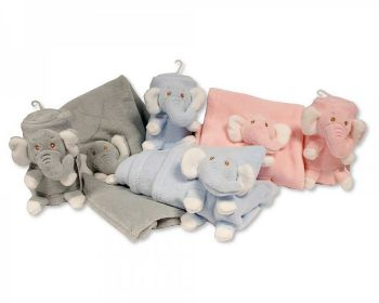 BW1048, Baby Roll Wrap with Integrated Elephant Toy £2.95.  PK6...