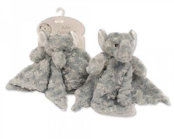 GP1064, Baby Rosebud Comforter - Elephant £2.95.   pk12...