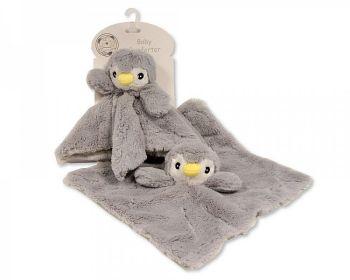 GP1063, Baby Rosebud Comforter - Penguin £2.95.   pk12...