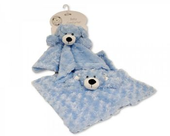 GP1061, Baby Rosebud Comforter -Bear £2.95.   pk12...