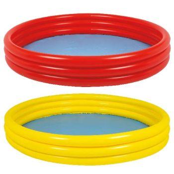 Code:810303, 3 Ring Inflatable Paddling Pool £3.85.   pk6..