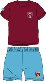 """*WH35032, Official """"West Ham"""" Boys Shortie Pyjama £3.50.  pk32..."""