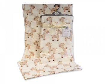 BW1043, Baby Wrap - Giraffe £3.75.  PK3...