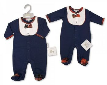 BIS2398, Baby Tartan All in One £9.15.  PK6...