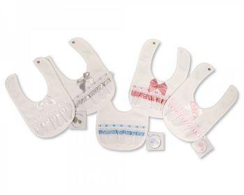 BW694, Baby Lace Bibs £2.50.   PK6...