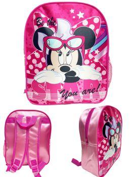 "9739N, Official ""Minnie"" Premium Backpack £2.90.  pk6..."