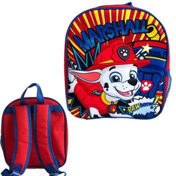 """9733N, Official """"Paw Patrol"""" Premium Backpack £2.90.  pk6..."""