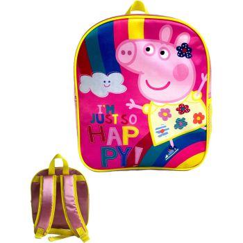 """9726N, Official """"Peppa Pig"""" Premium Backpack £2.90.  pk6..."""