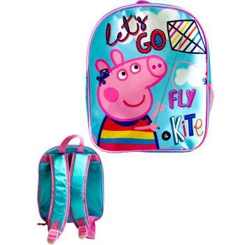 """9728N, Official """"Peppa Pig"""" Premium Backpack £2.90.  pk6..."""