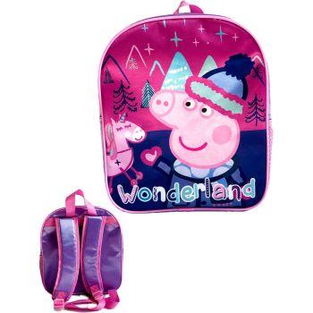"""9729N, Official """"Peppa Pig"""" Premium Backpack £2.90.  pk6..."""