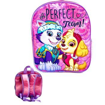 """9734N, Official """"Paw Patrol"""" Skye/Everest Premium Backpack £2.90.  pk6..."""