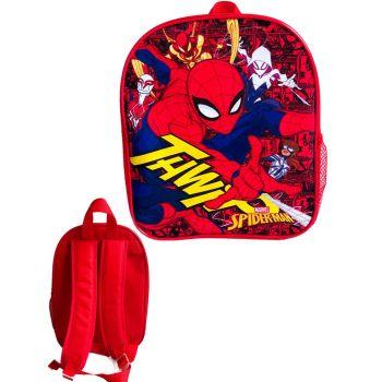 """9721N, Official """"Spiderman"""" Premium Backpack £2.90.  pk6..."""