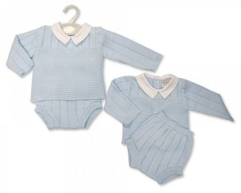BW1136, Baby Boys Knitted 2 Pieces Set £10.40.   PK6...