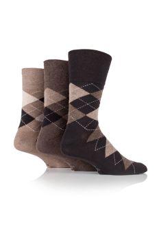 """SOMRJ41, Mens """"Gentle Grip"""" design socks.  1 dozen.."""