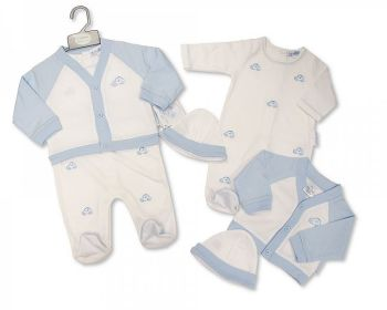 BIS2448, Baby Boys 2 Pieces Set with Hat - Cars £9.80.  PK6...