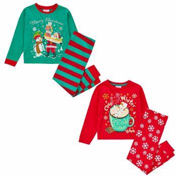 15C516, Kids Christmas Pyjama £5.95.   pk32....