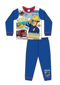 "Code:36123, Official ""Fireman Sam"" Boys Pyjama £3.75.   pk18..."